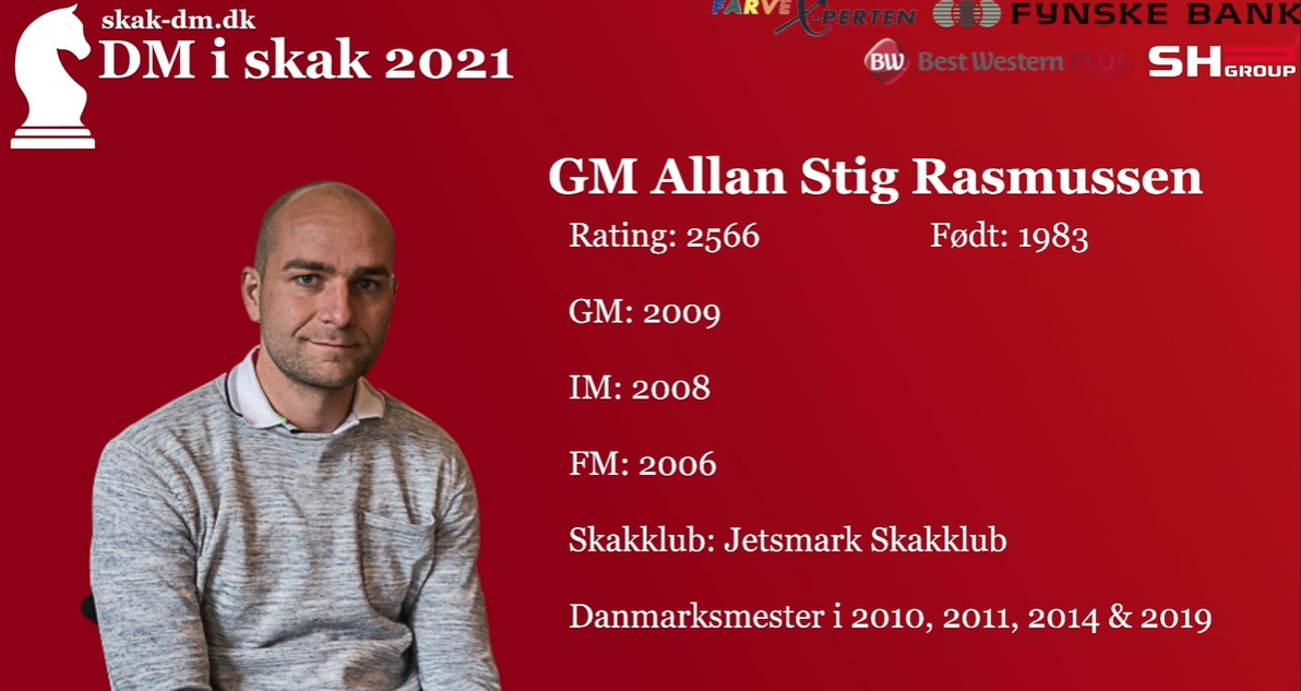 Read more about the article GM Allan Stig Rasmussen på 5/5!