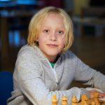 Flot resultat af 8-årige August Jalving