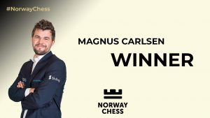 Read more about the article Flot slutspurt af Magnus Carlsen i Norway Chess