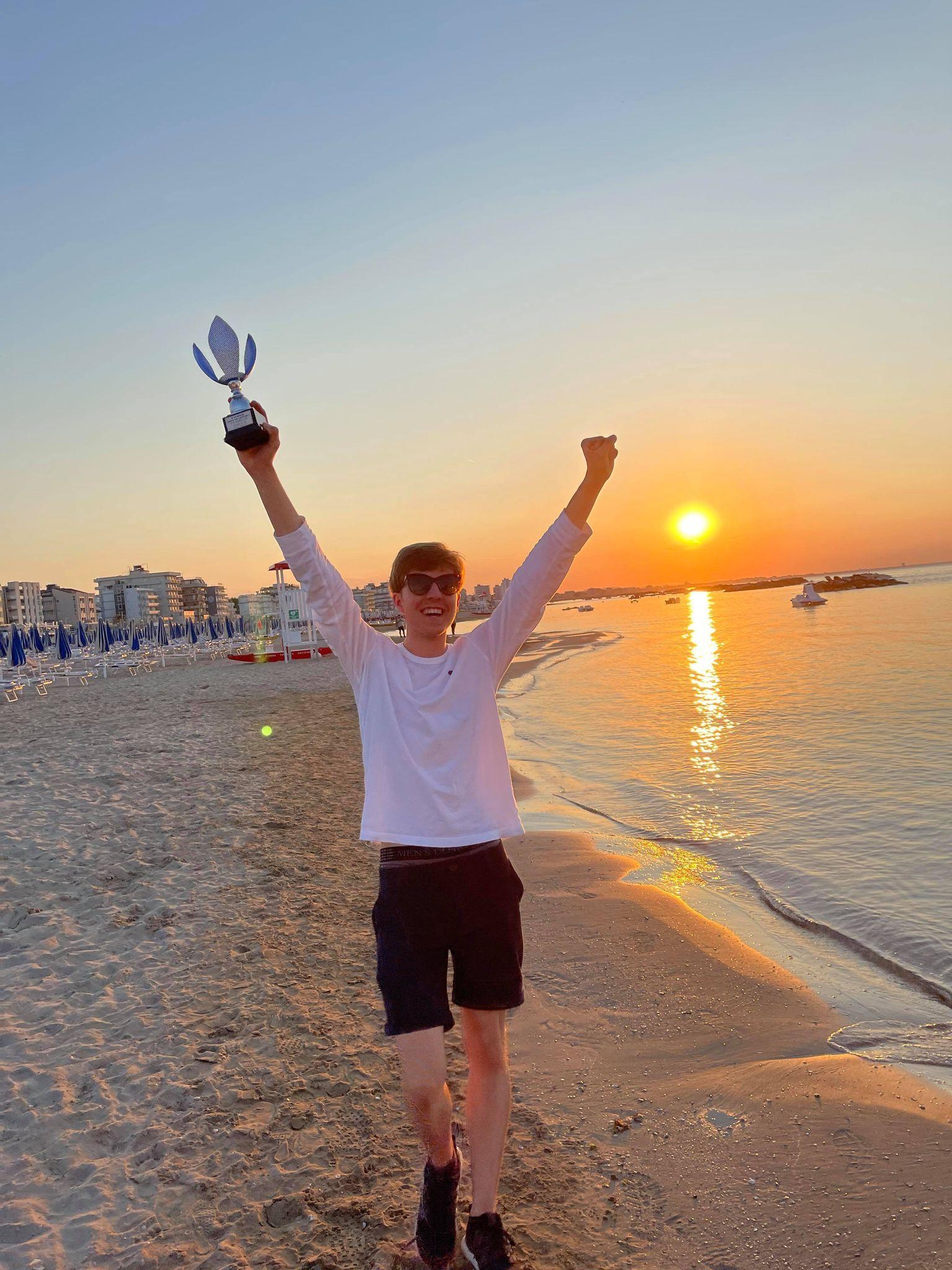 Jonas Bjerre delt turneringsvinder i Italien