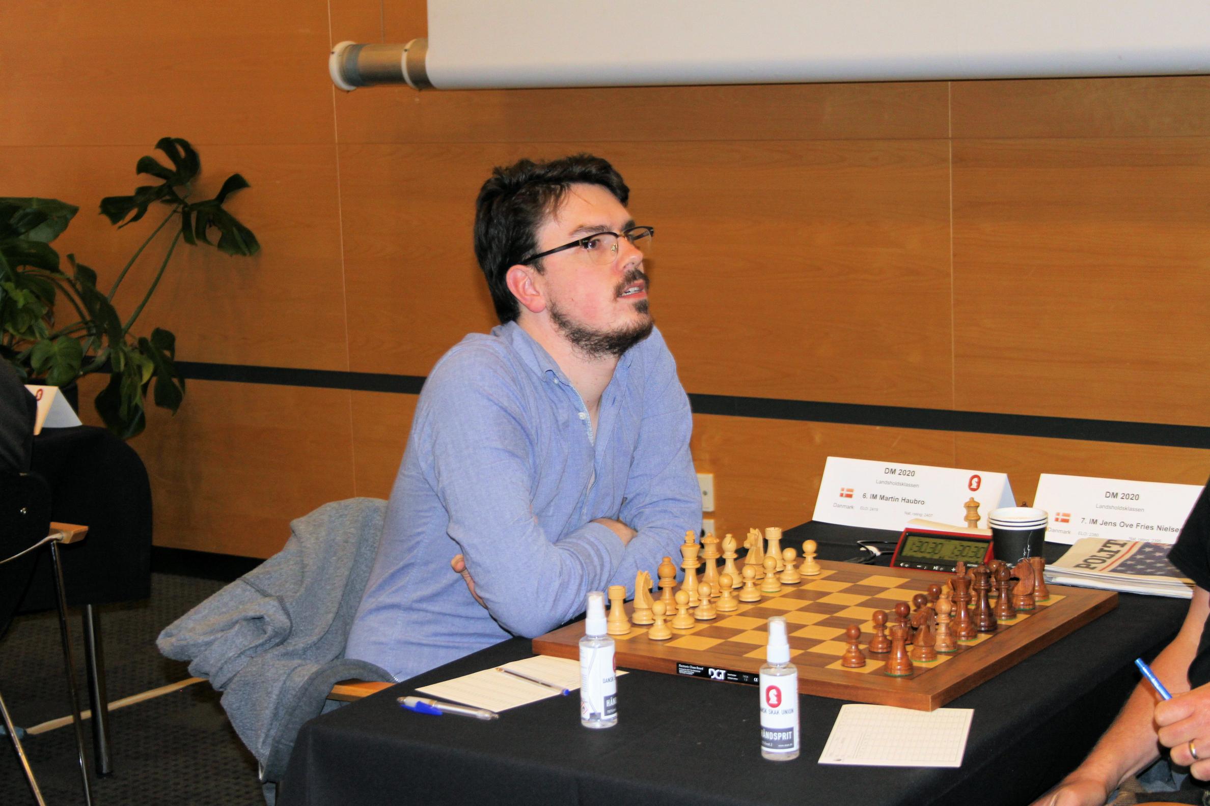 Martin Haubro med i spidsen