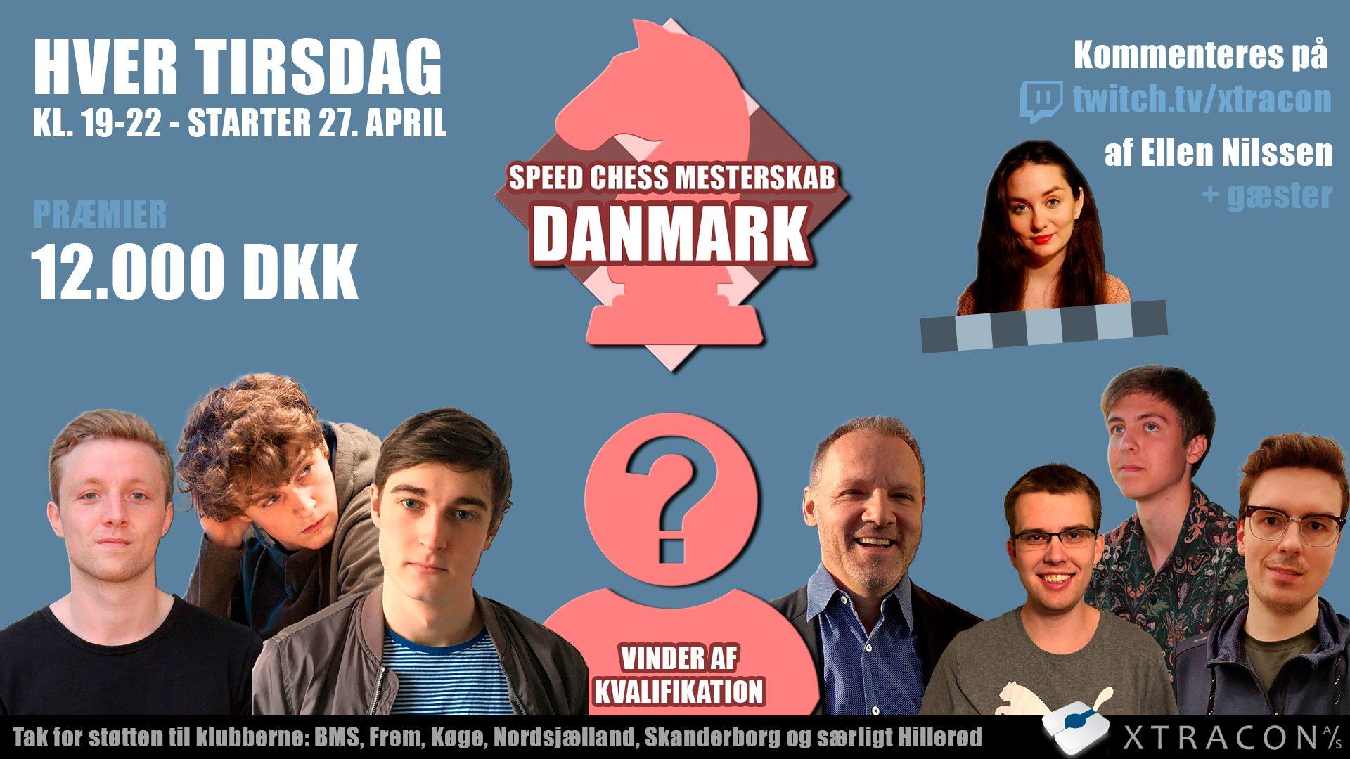 SPEED CHESS MESTERSKAB – DANMARK