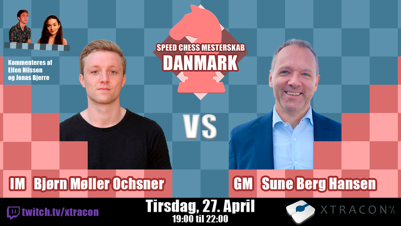 Read more about the article Første match i Speed Chess Mesterskab – Danmark